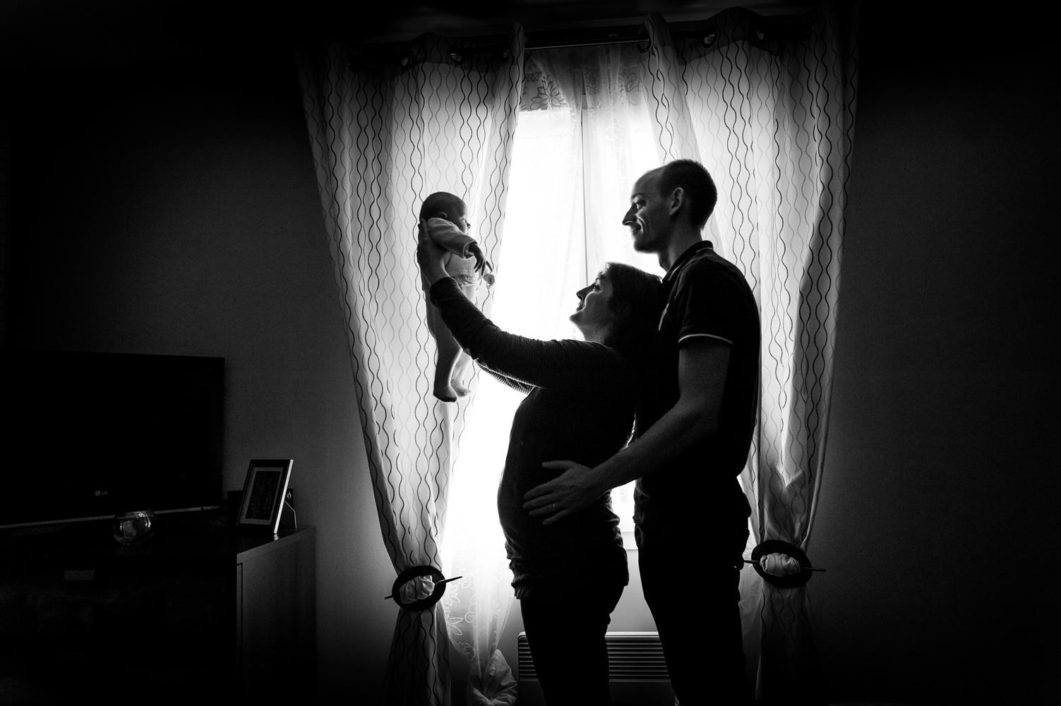 Photo de grossesse et de naissance