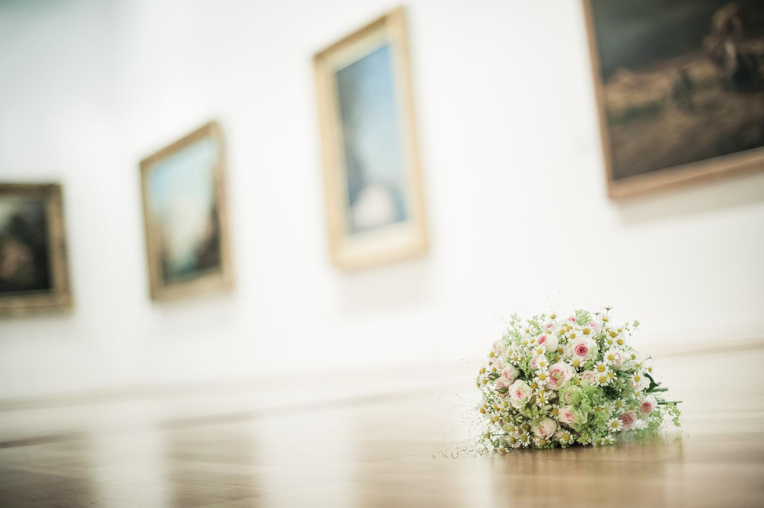bouquet dans musée paul dini villefranche