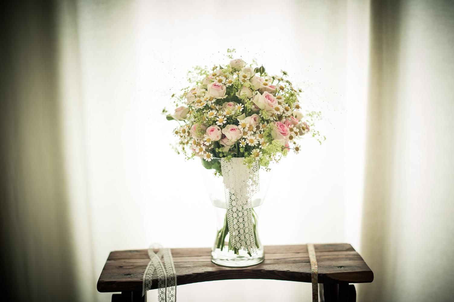 Mariage en beaujolais-le-bouquet