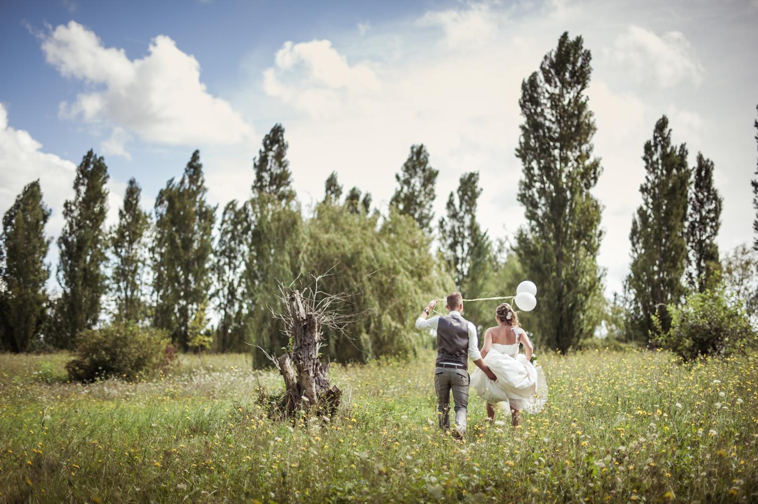 photo de mariage couple extérieur