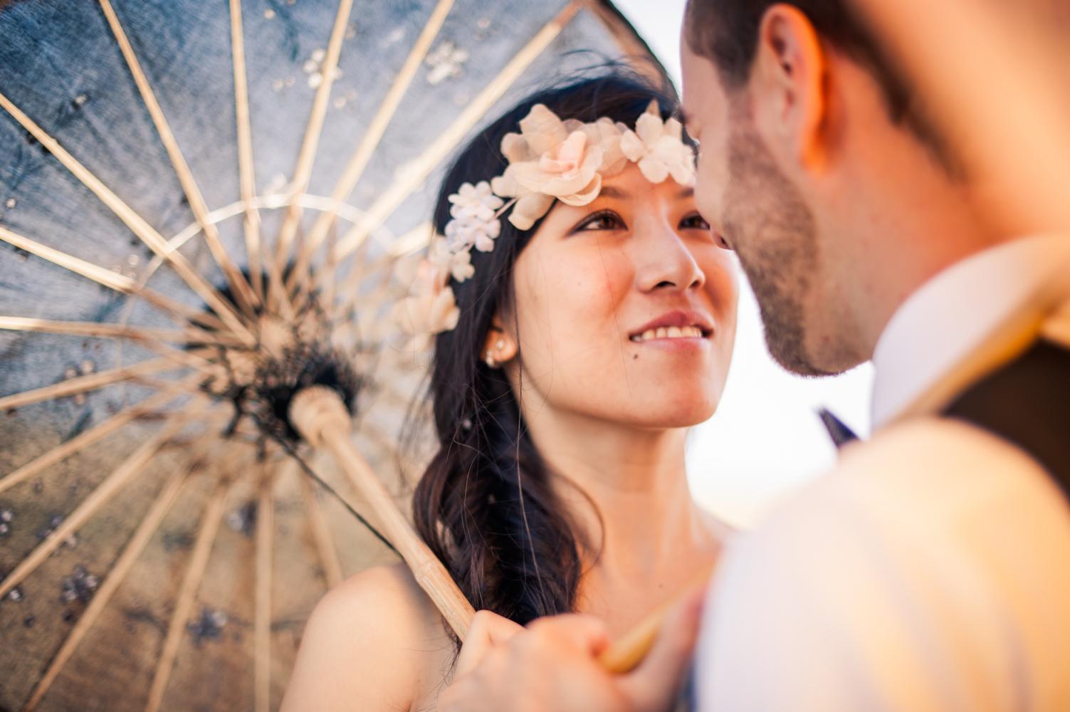 photo de mariage à Paris en couple