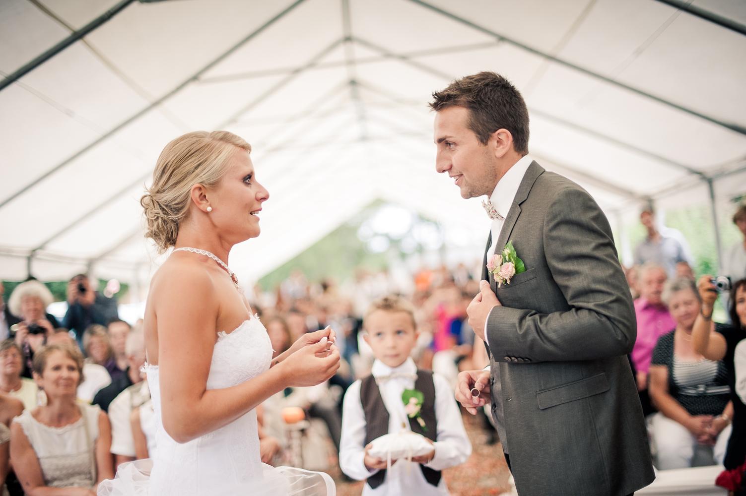 photo de mariage cérémonie