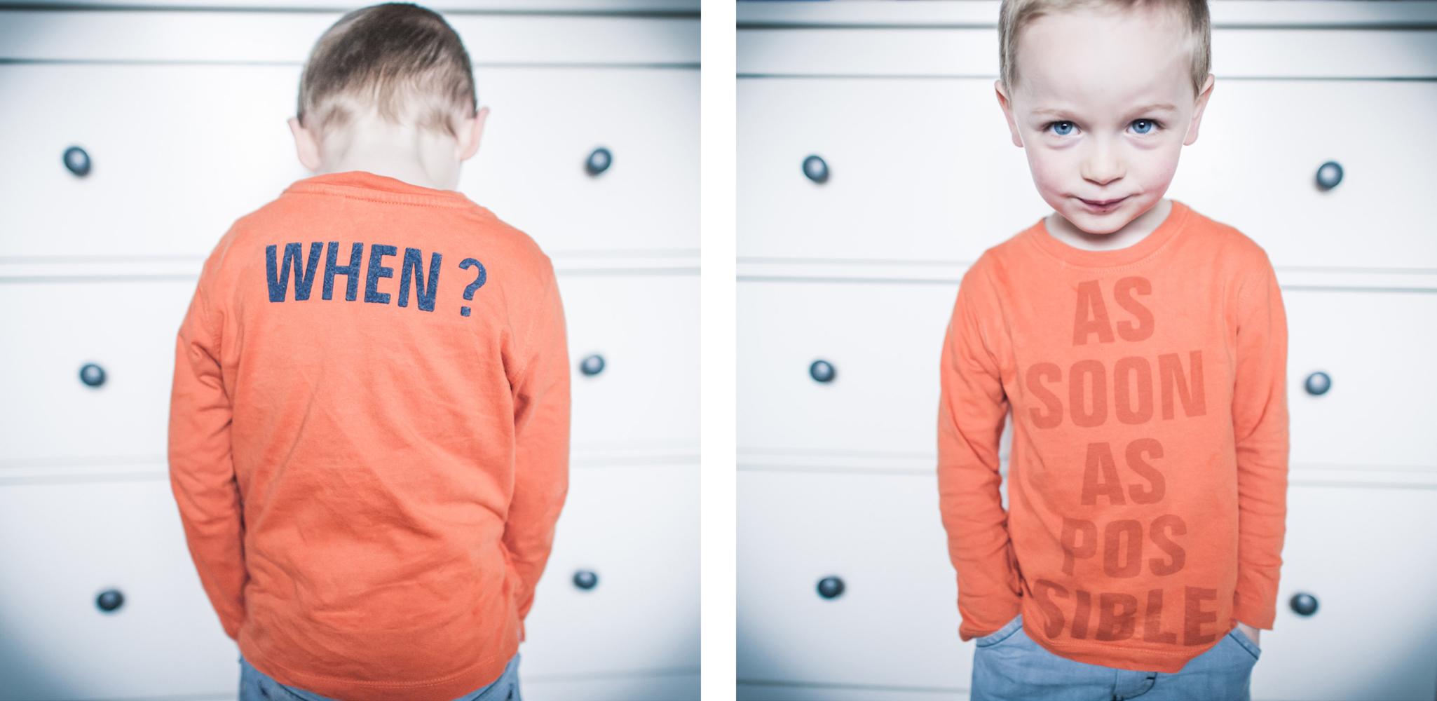 portrait enfant moderne