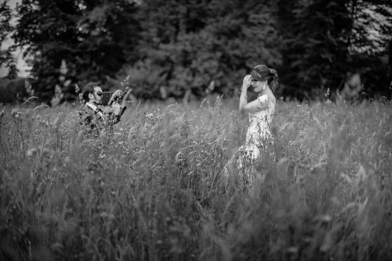 mariage en franche-comté à l'orangerie de Guillon-les-bains sur le thème du cinéma