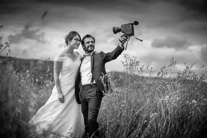 mariage cinéma super 8 mm
