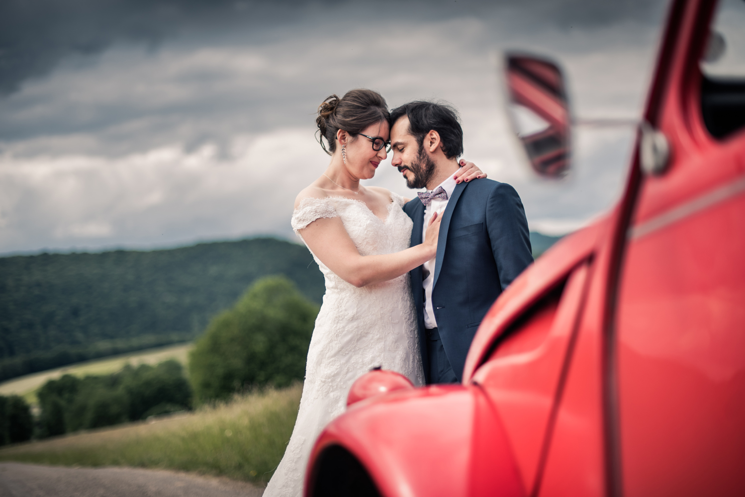 mariage 2 chevaux