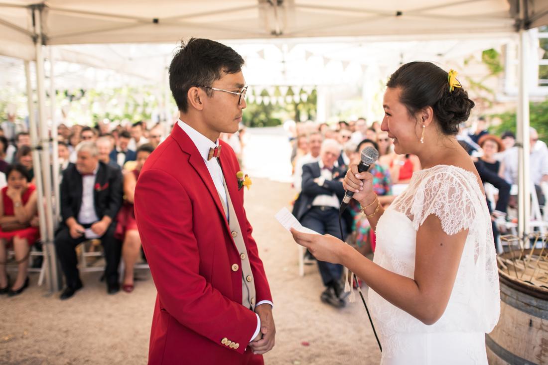 discours des marié cérémonie laïque