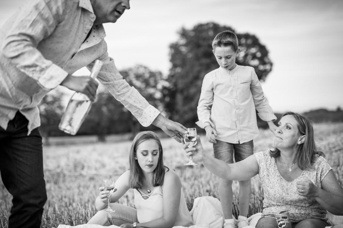 moments de famille en photo