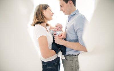 Reportage photo de grossesse et de naissance